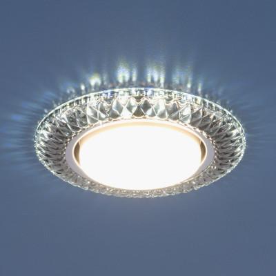 Лампа: GX53, max 13 Вт* + LED 4 Вт Диаметр: Ø 135 мм Высота внутренней части: ↑ 29 мм Высота внешней части: ↓ 11 мм Монтажное отверстие: Ø 82 мм Гарантия: 2 года *Лампа в комплект не входит.