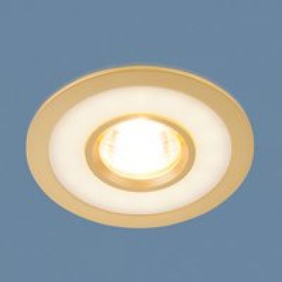 Св. глн. Электростандарт 1052 MR16 GD золото