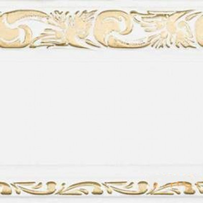 """Карниз """"Олимп"""" 3-х рядный с поворотами 3,0 м белый глянец золото"""