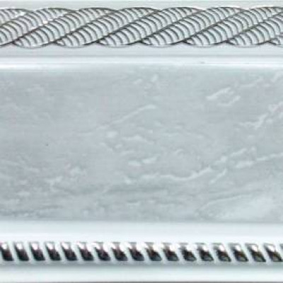 Карниз Византия 2,4 м мрамор хром