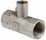 Тройник 1/2-1/4 г/г/г VALTEK под датчик теплосчетчика (VTr/651)
